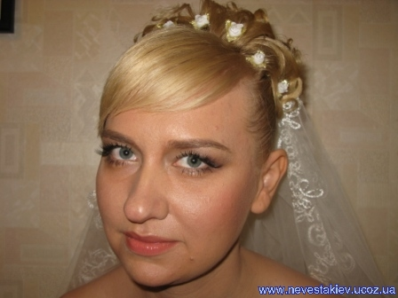 свадебные прическии фото альбом